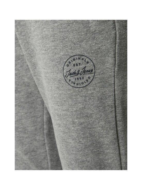 JACK & JONES junior - JJIGORDON JJSHARK Sweat Pants AT Noos JR -collegehousut - LIGHT GREY MELANGE | Stockmann - photo 2