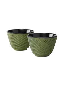 Bredemeijer - teekupit Xilin 2 kpl - GREEN | Stockmann