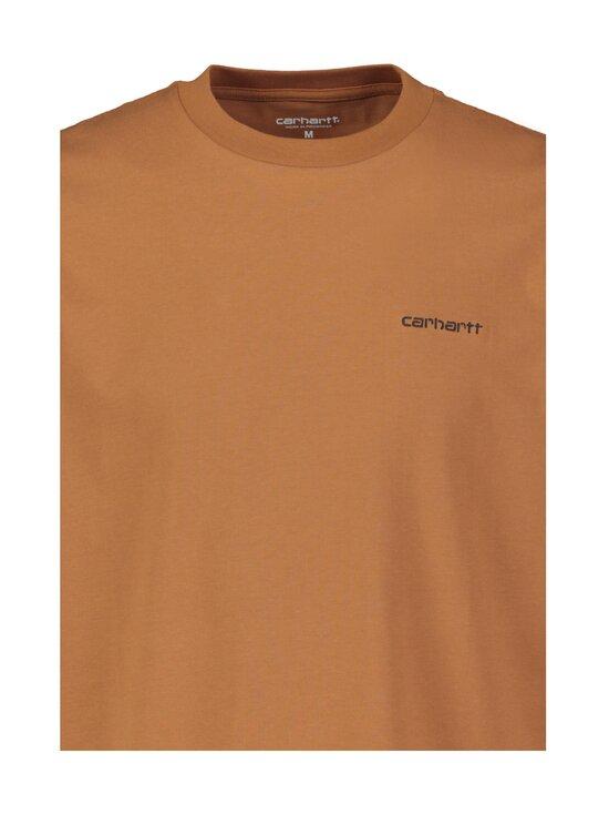 Carhartt WIP - Script Embroidery -paita - RUM / BLACK   Stockmann - photo 3