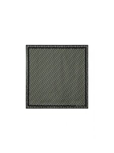 Kenzo - Monogrammed Square Scarf -silkkihuivi - BLACK | Stockmann