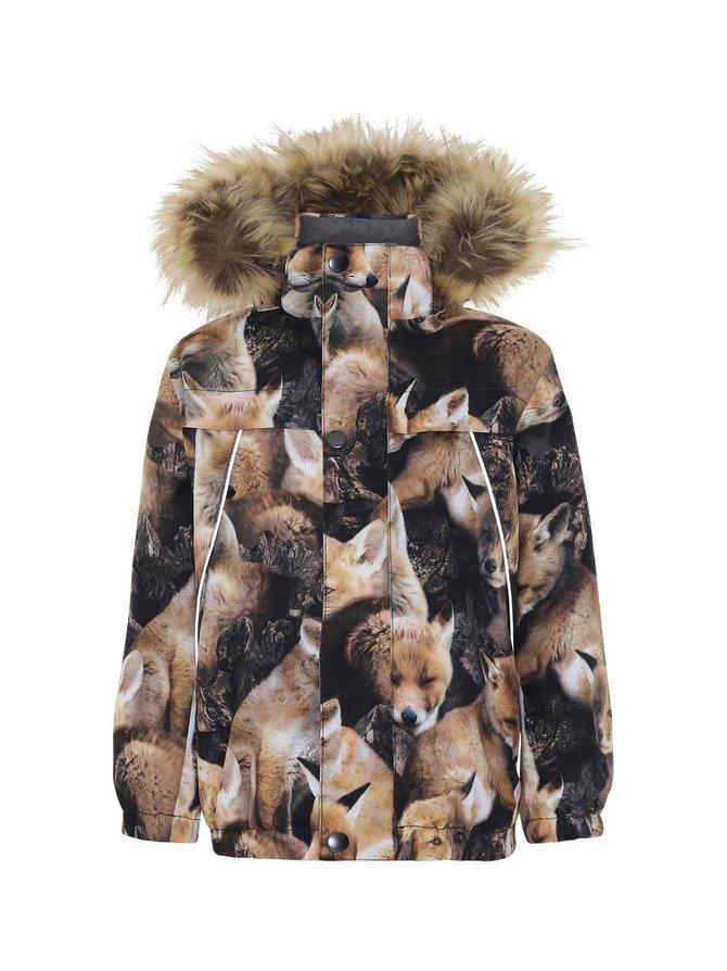 Castor Fur Fox Camo -takki