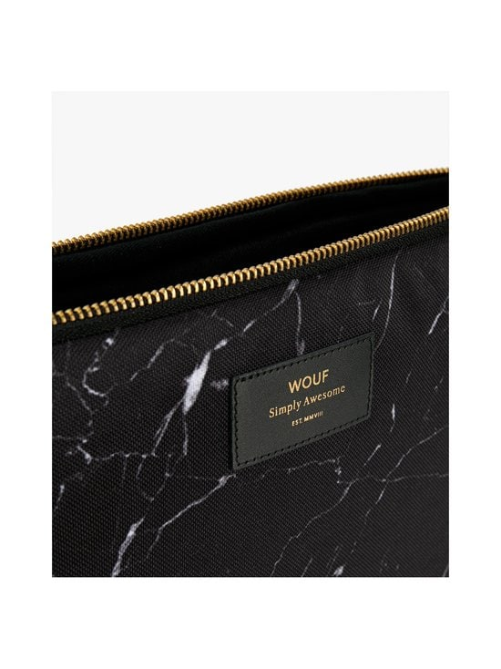 WOUF - Black Marble 13″ -suojatasku kannettavalle - BLACK | Stockmann - photo 2