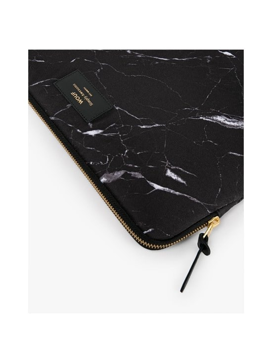 WOUF - Black Marble 13″ -suojatasku kannettavalle - BLACK | Stockmann - photo 3