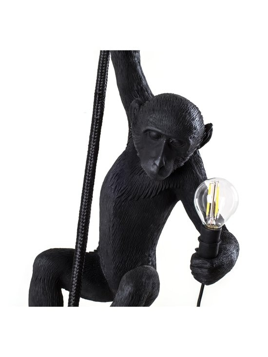 Seletti - Monkey Lamp Ceiling -kattovalaisin - MUSTA | Stockmann - photo 4