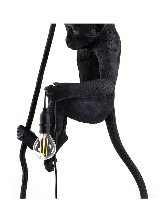 Seletti - Monkey Lamp Ceiling -kattovalaisin - MUSTA | Stockmann - photo 5