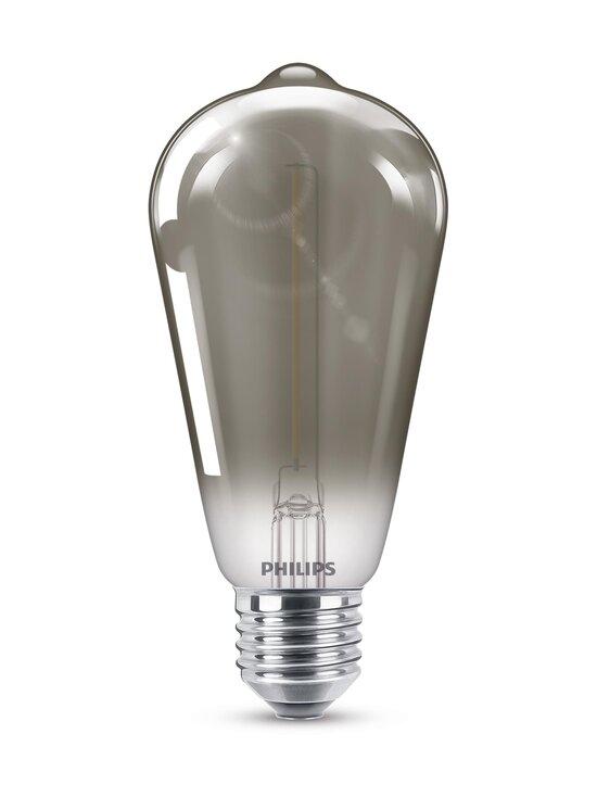 Philips - LED Smoky 2,3W ST64 E27 -lamppu - GREY | Stockmann - photo 1