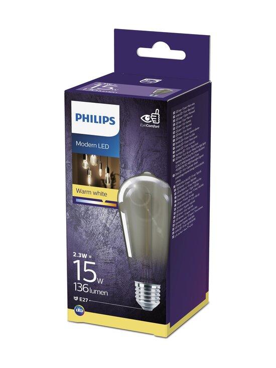 Philips - LED Smoky 2,3W ST64 E27 -lamppu - GREY | Stockmann - photo 2