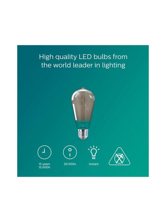 Philips - LED Smoky 2,3W ST64 E27 -lamppu - GREY | Stockmann - photo 4