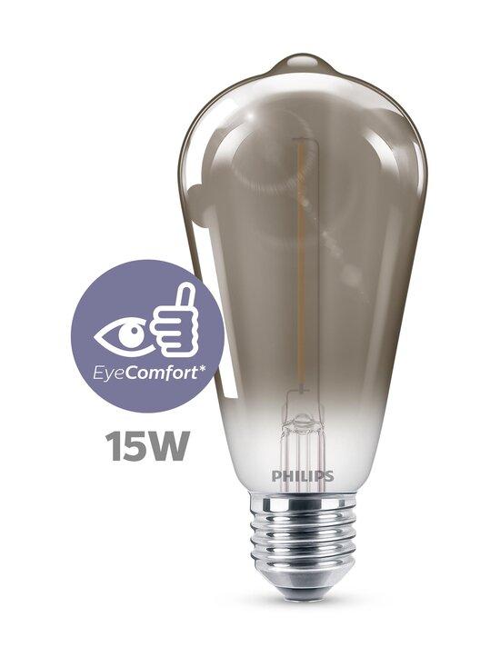 Philips - LED Smoky 2,3W ST64 E27 -lamppu - GREY | Stockmann - photo 6