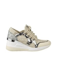 Michael Michael Kors - Liv Trainer -kiilakorkosneakerit - 270 NATURAL | Stockmann