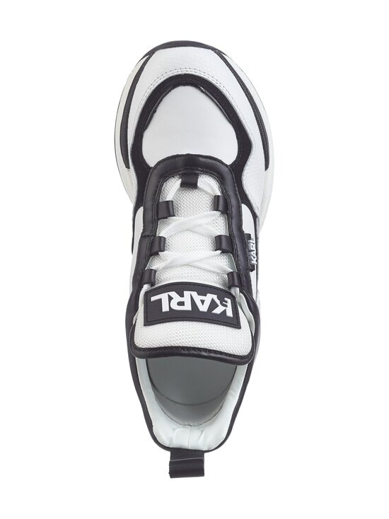 Karl Lagerfeld - Ventura Lazare Mid Top -sneakerit - 010 WHITE LTHR W/BLACK   Stockmann - photo 2