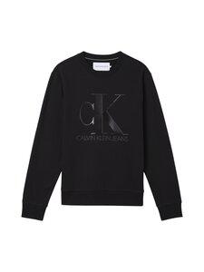 Calvin Klein Jeans - LEATHER MONOGRAM -collegepaita - BEH CK BLACK   Stockmann