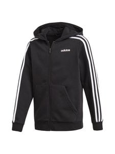 adidas Performance - Essentials 3 Stripes Hoodie -huppari - BLACK/WHITE   Stockmann