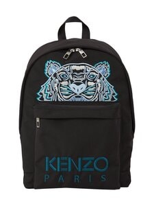 Kenzo - Canvas Kampus Tiger Backpack -reppu - 99F BLACK | Stockmann