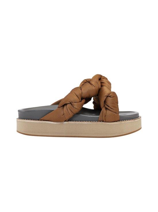 Ganni - Mid Knotted -sandaalit - 194 CHIPMUNK   Stockmann - photo 1