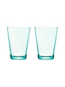 Iittala - Kartio-juomalasi 40 cl, 2 kpl - VEDENVIHREÄ | Stockmann