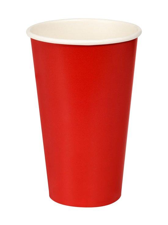 Duni - Bio Red Cup -kertakäyttömuki 50 cl, 10 kpl - RED | Stockmann - photo 1