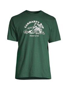 Carhartt WIP - S/S Flat Tire T-Shirt -paita - TREEHOUSE / WHITE /---   Stockmann