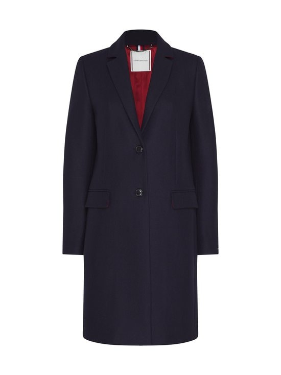 Tommy Hilfiger - TH Essential Wool Blend Classic Coat -villakangastakki - DW5 DESERT SKY | Stockmann - photo 1