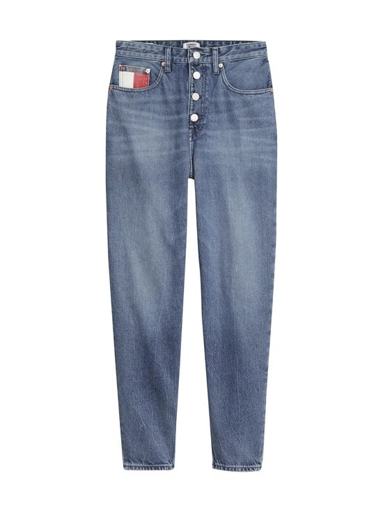 Tommy Jeans - Mom Jeans -farkut - 1A5 SAVE PF MID BLUE RIGID | Stockmann - photo 1