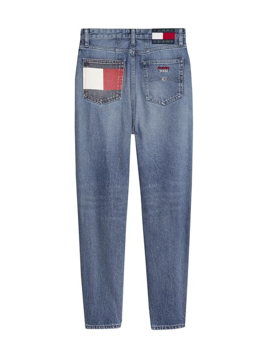 Tommy Jeans - Mom Jeans -farkut - 1A5 SAVE PF MID BLUE RIGID | Stockmann - photo 2