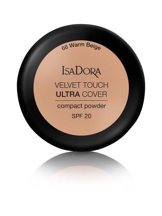 Isadora - Velvet Touch Ultra Cover Compact Powder SPF 20 -kivipuuteri 7,5 g - 66 WARM BEIGE | Stockmann - photo 2