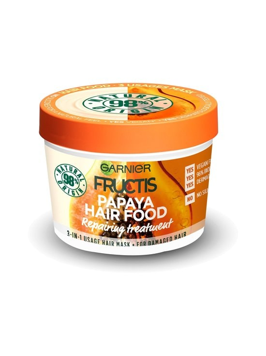 Garnier - Papaya Hair Food Nourishing Hair Treatment -hiushoito 390 ml - NOCOL   Stockmann - photo 1