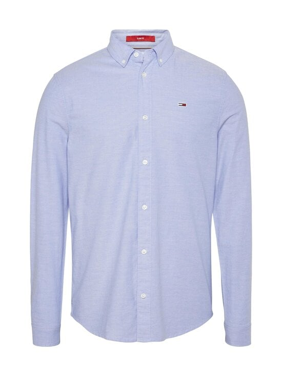 Tommy Jeans - Tjm Slim Stretch Oxford -kauluspaita - BLUELIGHT | Stockmann - photo 1