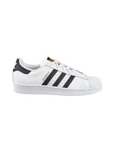 adidas Originals - U Superstar -nahkatennarit - FTWWHT/CBLACK (VALKOINEN) | Stockmann