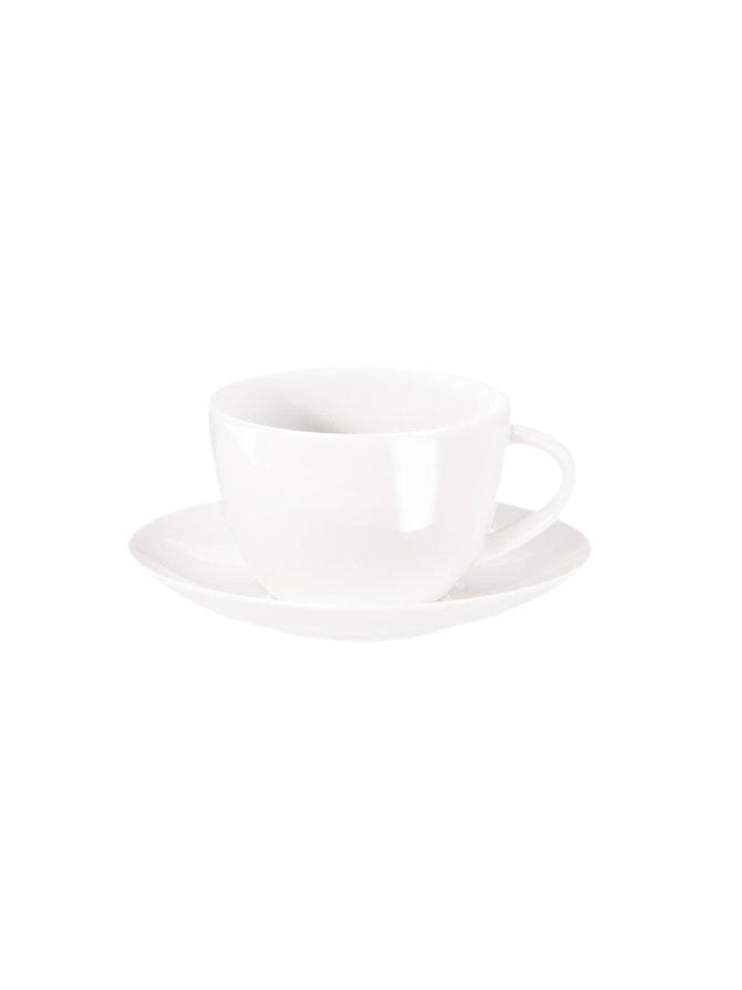 Á Table -kahvikuppi ja aluslautanen