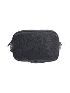 Balmuir - Elise Camera Bag -nahkalaukku - 310S BLACK/SILVER | Stockmann