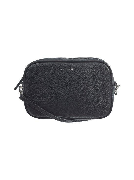 Balmuir - Elise Camera Bag -nahkalaukku - 310S BLACK/SILVER | Stockmann - photo 1
