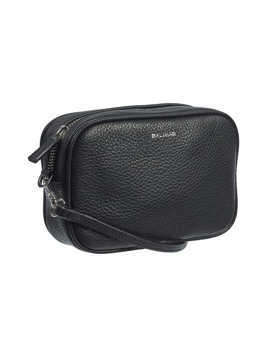 Balmuir - Elise Camera Bag -nahkalaukku - 310S BLACK/SILVER | Stockmann - photo 2