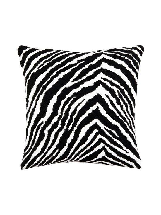 Artek - Zebra-tyynynpäällinen 40 x 40 cm - BLACK   Stockmann - photo 1