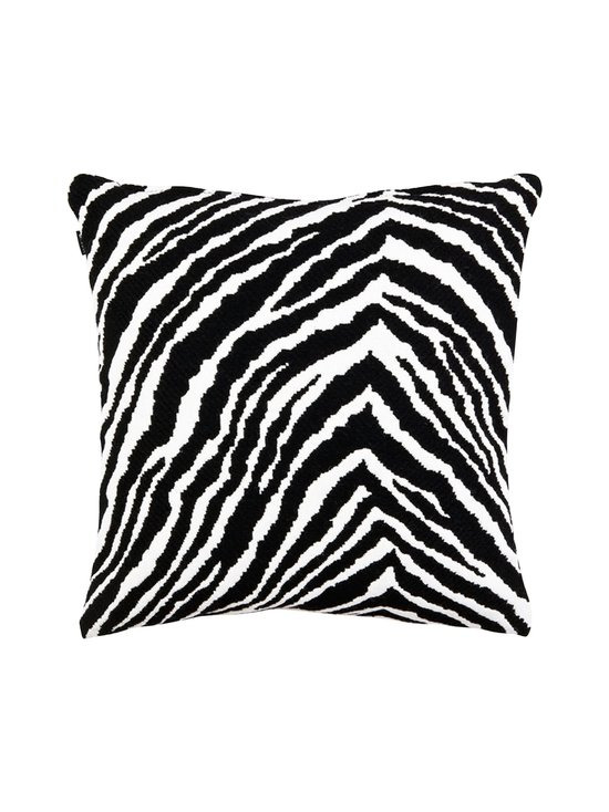 Artek - Zebra-tyynynpäällinen 40 x 40 cm - BLACK   Stockmann - photo 2