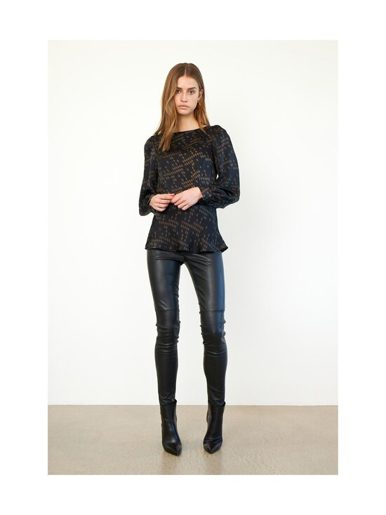 SECOND FEMALE - Joy-nahkaleggingsit - 8001 BLACK | Stockmann - photo 3