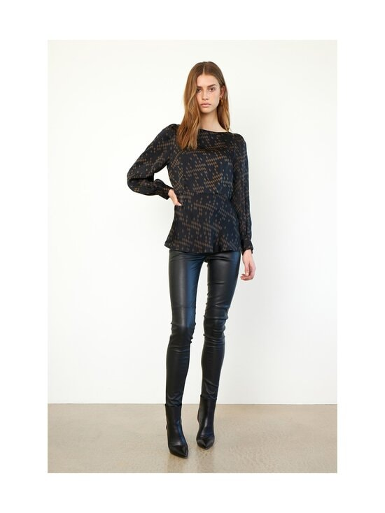SECOND FEMALE - Joy-nahkaleggingsit - 8001 BLACK | Stockmann - photo 4