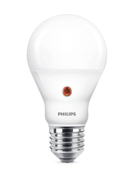 Philips - LED Classic 60W E27 Warm Glow -lamppu sensorilla - WHITE   Stockmann - photo 1
