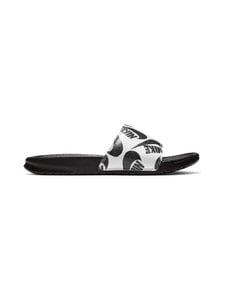 Nike - Benassi JDI Printed -sandaalit - BLACK/BLACK-WHITE | Stockmann