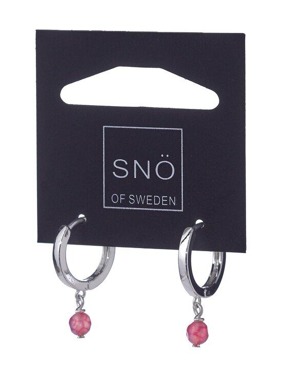 Snö Of Sweden - Roc Small Ring -korvakorut - CERISE | Stockmann - photo 1