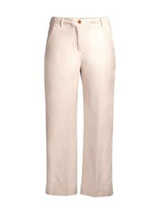 GANT - High Waist Summer Linen -housut - 34 PUTTY | Stockmann