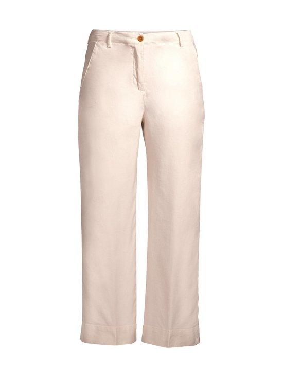 GANT - High Waist Summer Linen -housut - 34 PUTTY | Stockmann - photo 1