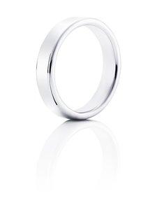Efva Attling - Soft Ring -sormus - WHITE GOLD | Stockmann