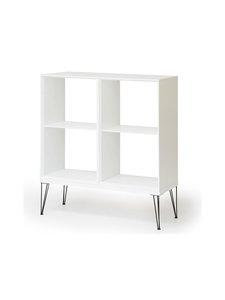 Muurame - Slimmi-kaapisto, Viiva-jalat 104 x 110,5 x 39 cm - WHITE | Stockmann