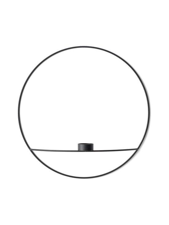 Menu - POV Circle Kynttilänjalka tuikulle, L - MUSTA | Stockmann - photo 1
