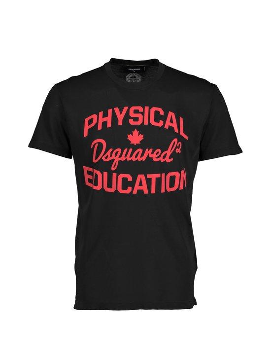 Dsquared - Physical Education T-Shirt -paita - 900 BLACK | Stockmann - photo 1