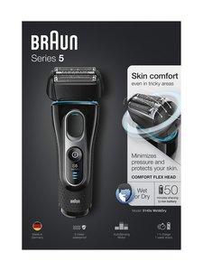 Braun - Series 5 Shaver 5145s -parranajokone - MUSTA | Stockmann