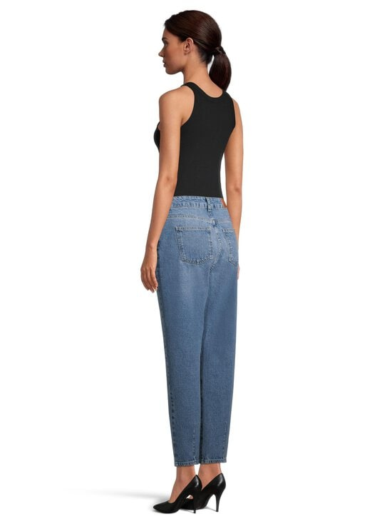 Noisy may - NmIsabel HW Ankle Mon Jeans -farkut - MEDIUM BLUE DENIM | Stockmann - photo 3