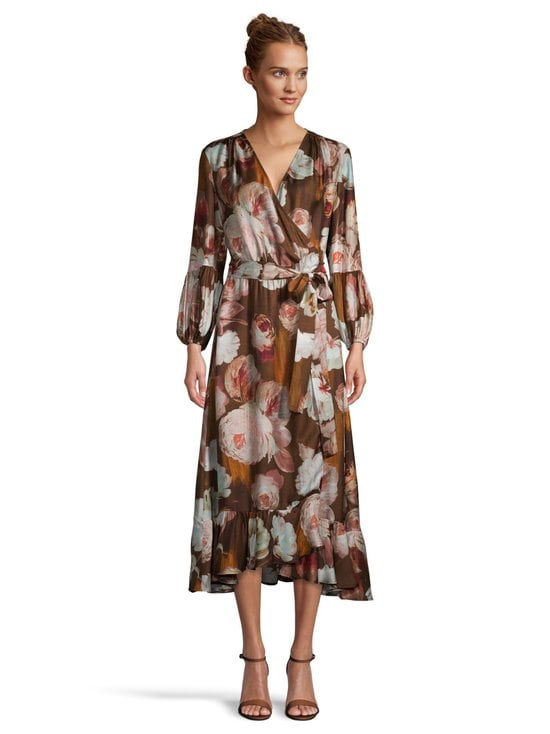 SAND Copenhagen - Long Wrap Dress -mekko - 220 LIGHT CAMEL | Stockmann - photo 2