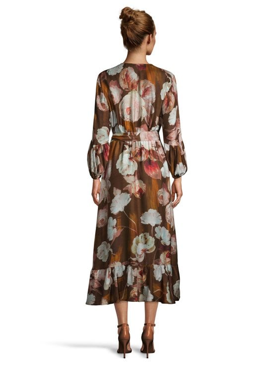 SAND Copenhagen - Long Wrap Dress -mekko - 220 LIGHT CAMEL | Stockmann - photo 3